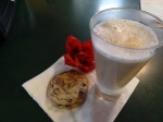 Cappuccino and Cookies at Mother's Kitchen