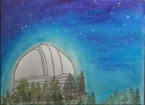 Art class Palomar Mountain Observatory