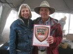 Rick Barclay and his wife at Apple Festival