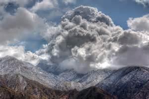 snow clouds palomar mountain Sheila Robinson