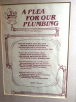 plea for our plumbing poem