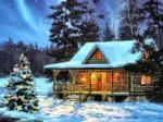 cabin for christmas