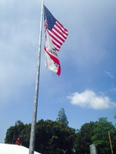flag palomar mountain