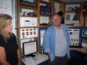 Marie Waldron and Steven Flanders Palomar Mountain Observatory