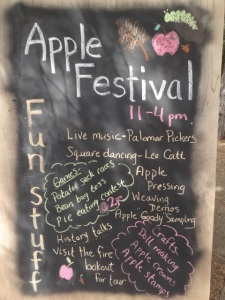 palomar mountain apple festival