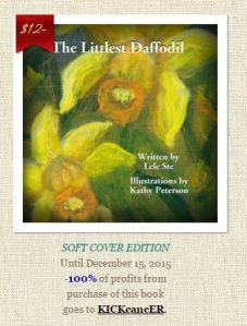 the littlest daffodil press release Lele Stu, Leah Stevens