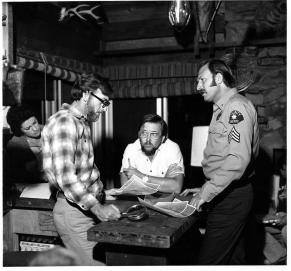 cabin 1977 Richard Cardella, Crater Lake Monster