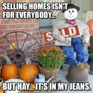 hay in my jeans